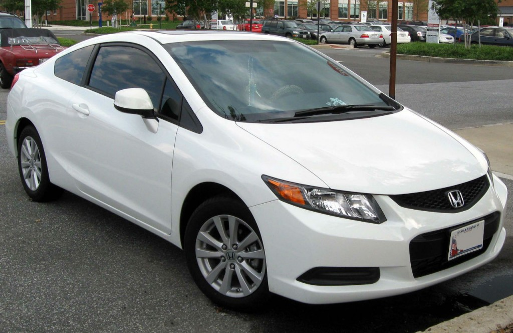 La Honda Civic coupé édition 2011